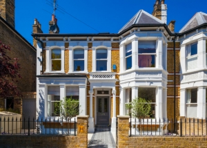 Double fronted house Wandsworth Common