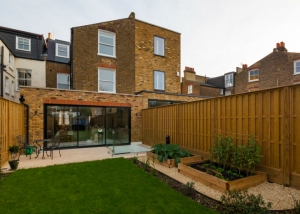 Rear view of Balham renovation
